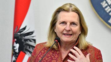 МИД Австрии возглавит Карин Кнайсль