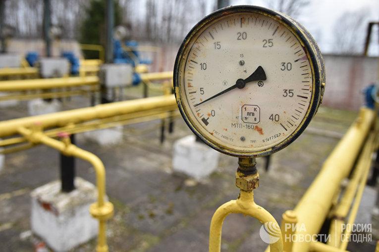 Газодобывающее предприятие компании «Укргаздобыча» во Львовской области
