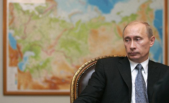 Президент России Владимир Путин в Ново-Огарево