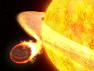 Экзопланета WASP-12b