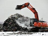 """На полигоне """"Кучино"""" установили факельную установку для утилизации отходов"""