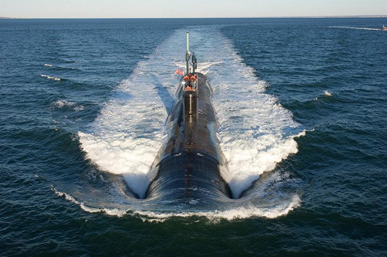 """Американская субмарина класса """"Вирджиния"""""""