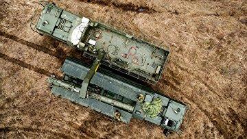 """Транспортно-заряжающая машина комплекса """"Искандер-К"""" с крылатыми ракетами Р-500"""