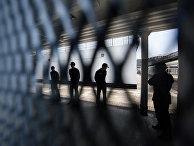 Сотрудники тюрьмы строгого режима Стэнли в Гонконге