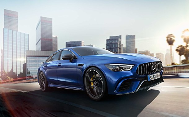 Mercedes AMG GT Four-door