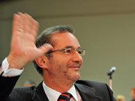 Немецкий политик, глава Германо-российского форума, бывший глава Социал-демократической партии Германии (СДПГ) Маттиас Платцек