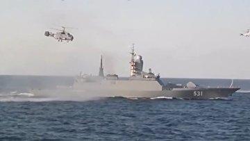 Военная провокация России на Балтике
