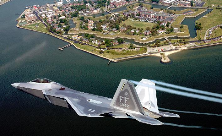 истребители пятого поколения - F-22 Raptor