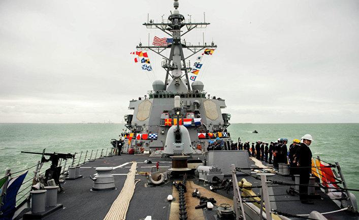 Эсминец ВМС США Дональд Кук