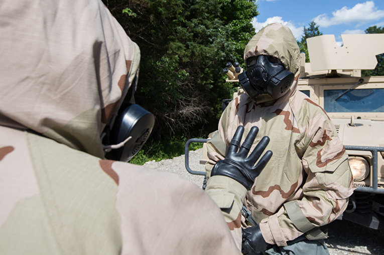 Учения по химической защите, Форт Леонард Вуд, США