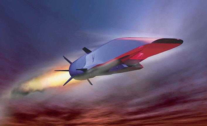 Разрабатываемая в США гиперзвуковая крылатая ракета X-51A Waverider