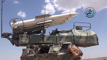 Российские системы ПВО на страже неба Сирии