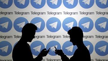 Логотип мессенджера Telegram