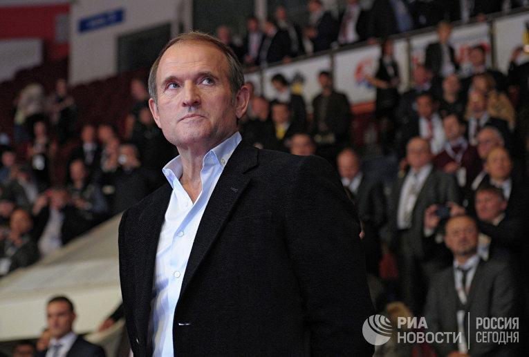 Лидер общественного движения «Украинский выбор» Виктор Медведчук