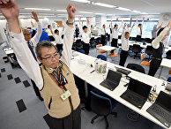 Зарядка в офисе в Токио