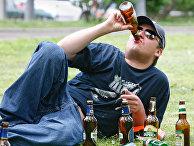 Распитие пива на улицах