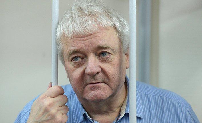 Гражданин Норвегии Фруде Берг в Лефортовском суде Москвы. 2 февраля 2018
