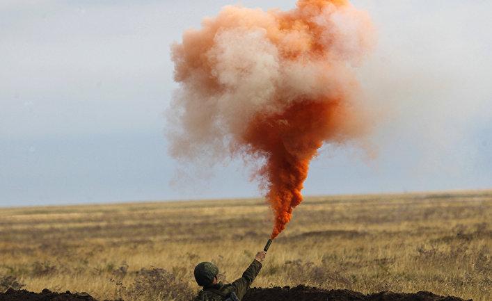 """Военные учения """"Центр-2011"""" в Астраханской области"""