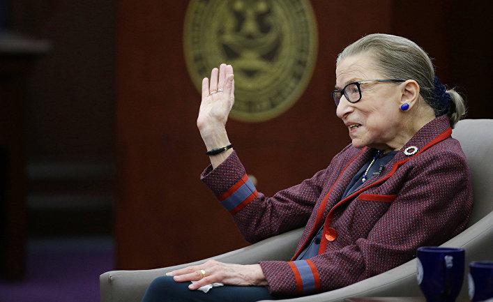 Судья Верховного суда США Рут Гинзбург