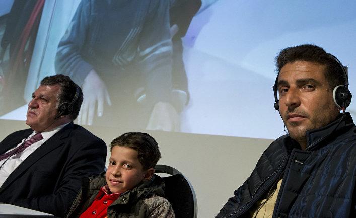Брифинг представителей РФ и свидетелей «химатаки» в Сирии в Организации по запрещению химического оружия (ОЗХО) в Гааге