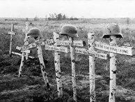 Могилы немецких солдат под Москвой