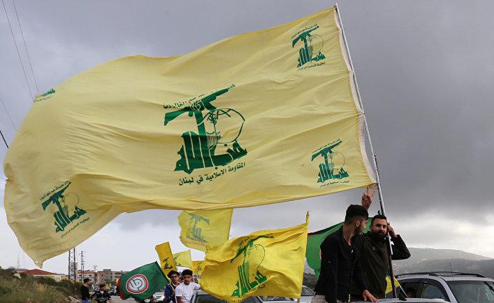 Сторонники «Хезболлы» в Марджаюне