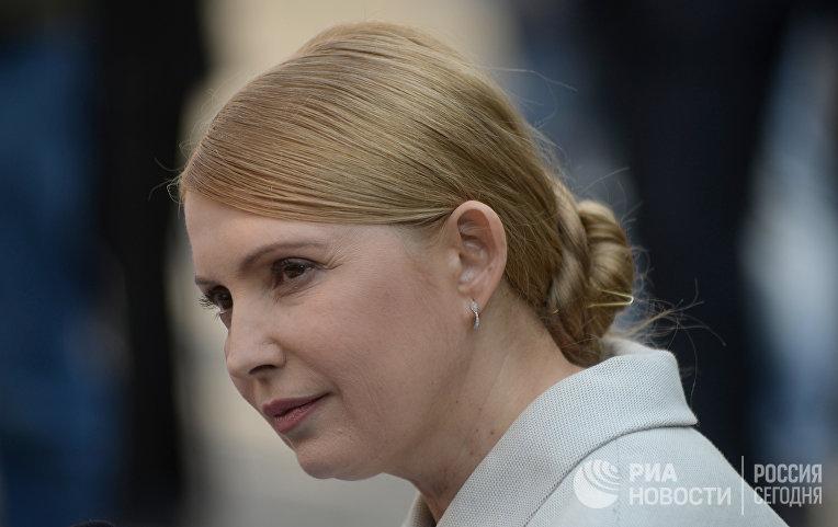 Пресс-конференция Ю.Тимошенко в Киеве