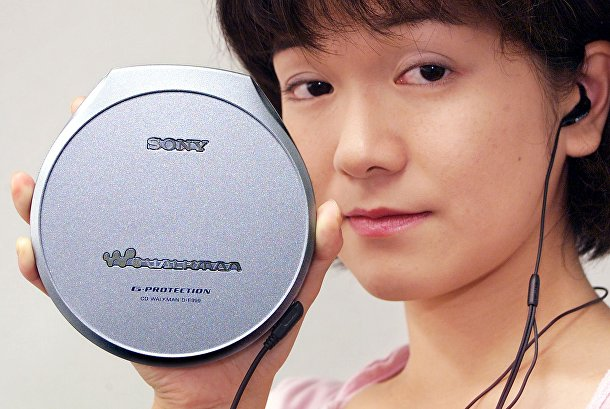Презентация портативного CD-плеера от компании Sony в Токи