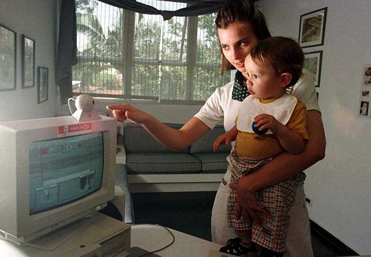 Работник детского сада в Сан-Паулу, 1996 год