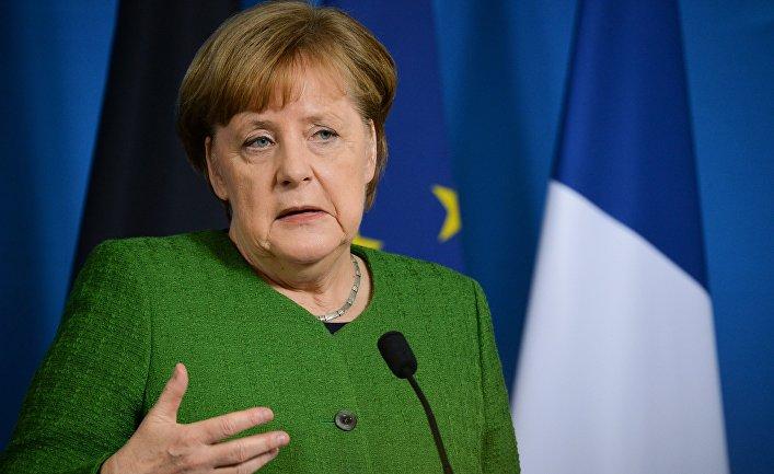 Жопа меркель