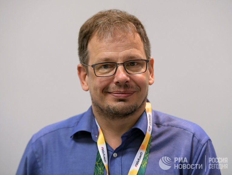 Журналист телеканала ARD Хайо Зеппельт