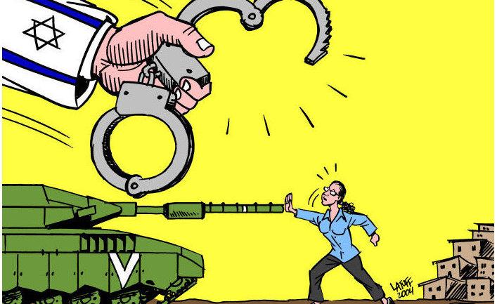 Каррикатура Carlos Latuff