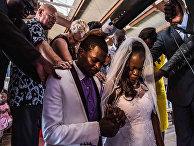Свадебная пара в Найроби, Кения