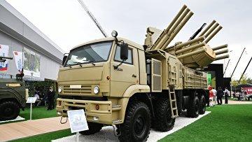 """Зенитный ракетно-пушечный комплекс """"Панцирь-С1"""""""