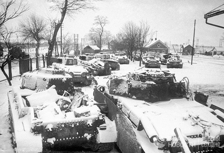 Захваченные гитлеровские танки, Венгрия
