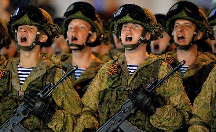 Генеральная репетиция парада Победы в городах России