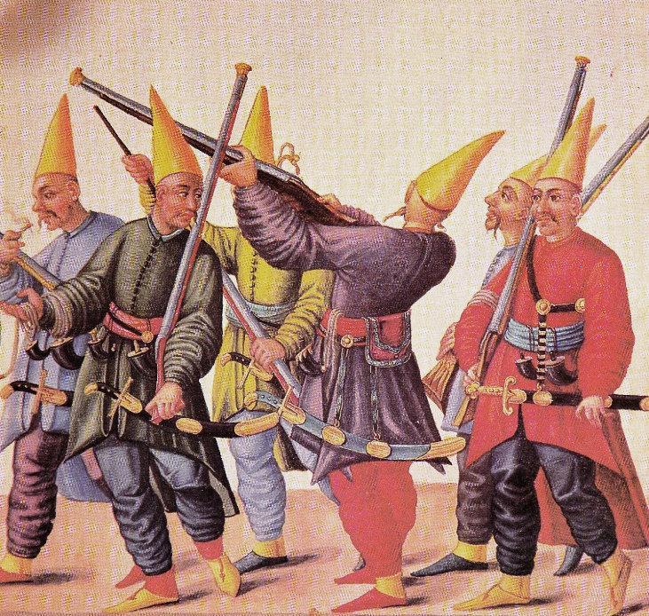Военные учения янычар