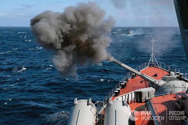 Военно-морские учения «Кумжа – 2018»