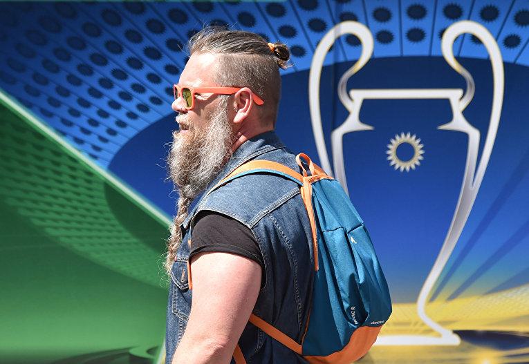 Логотип финала Лиги чемпионов УЕФА в Киеве