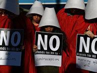 23 мая 2018. Демонстрация в Дублине в преддверие референдума о внесении поправок в конституцию по вопросу о разрешении абортов