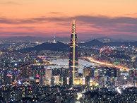 Вечерный Сеул, Южная Корея