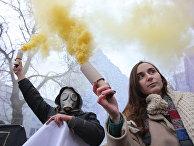 Акция в Киеве против полицейского произвола