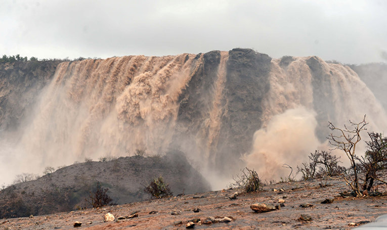 Последствия циклона Мекуну в Омане
