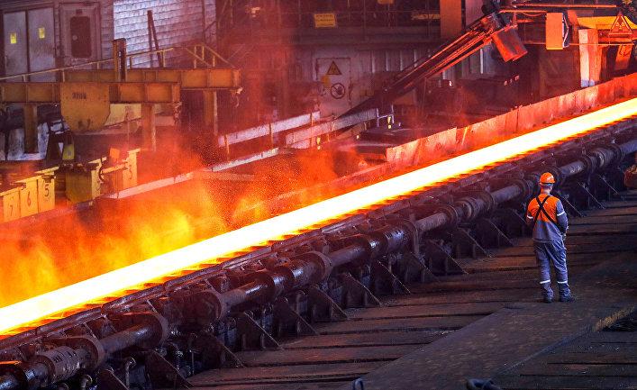 Сталелитейный завод в Генте, Бельгия