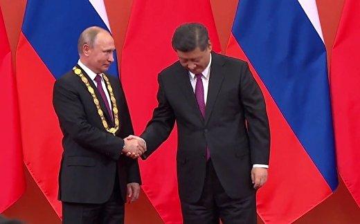 Орден от Си и китайские блины от Путина
