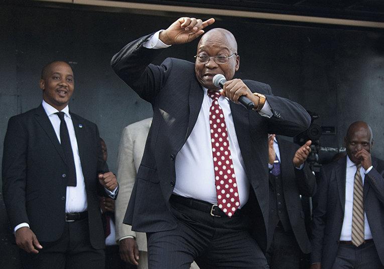 Бывший президент Южной Африки Джейкоб Зума