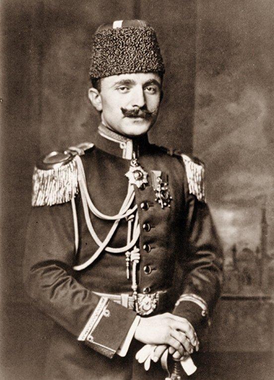 Османский военный деятель Энвер-паша