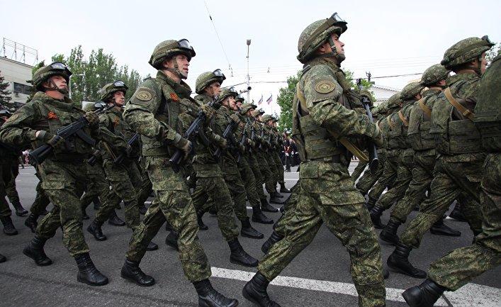 Празднование Дня Победы в Донбассе