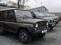 Автомобили УАЗ-Хантер и УАЗ-Патриот
