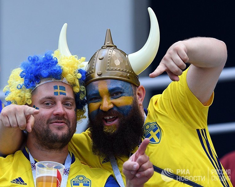Футбол. ЧМ-2018. Матч Швеция - Республика Корея